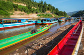 Boat in Laos — Stockfoto