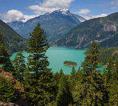 Diablo Lake — Stock Photo