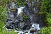 Vattenfall på alaska — Stockfoto