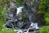 Wasserfall auf alaska — Stockfoto