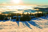 Vintern berg — Stockfoto
