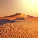 Hike in desert — Stock Photo #19180859