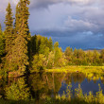 Lake on Alaska — Stock Photo #19231751