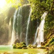 Stock Photo: Waterfall in Vietnam