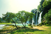 Waterfall in Vietnam — Stock Photo