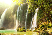 водопад в вьетнам — Стоковое фото
