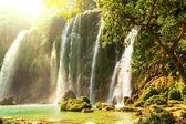 Wodospad w wietnamie — Zdjęcie stockowe