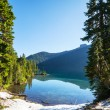 Lake in mountains — Stock Photo