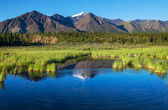 Lake on Alaska — Stockfoto