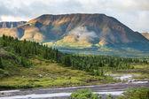 Mountains on Alaska — Stock Photo