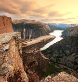Trolltunga — Stock Photo