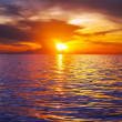 Sea sunset — Stock Photo #20693241