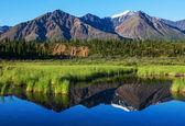 Lago su alaska — Foto Stock