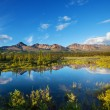 Lake on Alaska — Stock Photo