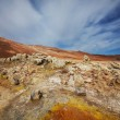 Thermal zone in Iceland — Stock Photo