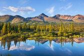 Jezioro na alasce — Zdjęcie stockowe