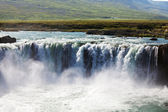 Wasserfall in island — Stockfoto