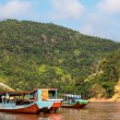 Boat in Laos - Stock Photo