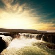 Waterfall in Iceland — Stock Photo #21375305