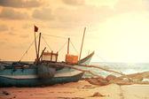 Boat on Sri Lanka — Stock Photo