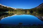 Lake in mountains — Stock Photo