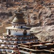 Monastery in Tibet - Stock Photo