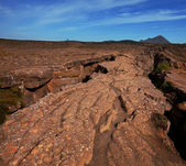 Volcanic landscapes — Stock Photo