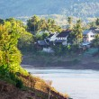River in Laos - Stock Photo