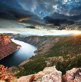 Flaming gorge — Foto de Stock