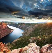 Flaming gorge — Foto Stock