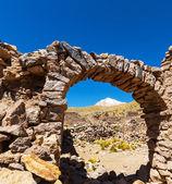 Ruins in Bolivia — Stock fotografie