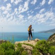 Foto Stock: Hike in Crimea