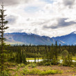 Foto de Stock  : Lake on Alaska