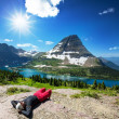 Hike in Glacier Park — Stock Photo #26864051