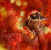 Hindy wedding — Stock Photo