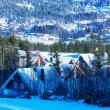 Ski resort — Stock Photo #27188285