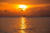 Båt i kambodja — Stockfoto