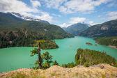 Diablo jezero — Stock fotografie