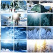 wintersport — Stockfoto