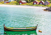 Boat in Norway — Stock Photo