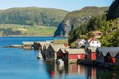 Baite in norvegia — Foto Stock