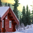 Winter resort — Stockfoto