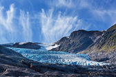 Glaciar en noruega — Foto de Stock