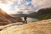 Hike in Norway — Stock Photo