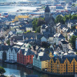 Alesund: Norway's most beautiful city — Stock Photo