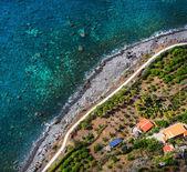 City of Madeira on pacific ocean coast — Stock Photo