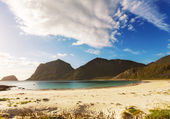 Beach on Lofoten — Stock Photo