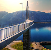 Bridge in Norway — Stockfoto