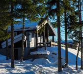 Winter resort — Stock Photo
