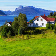 Huts in Norway — Stock Photo #34137783